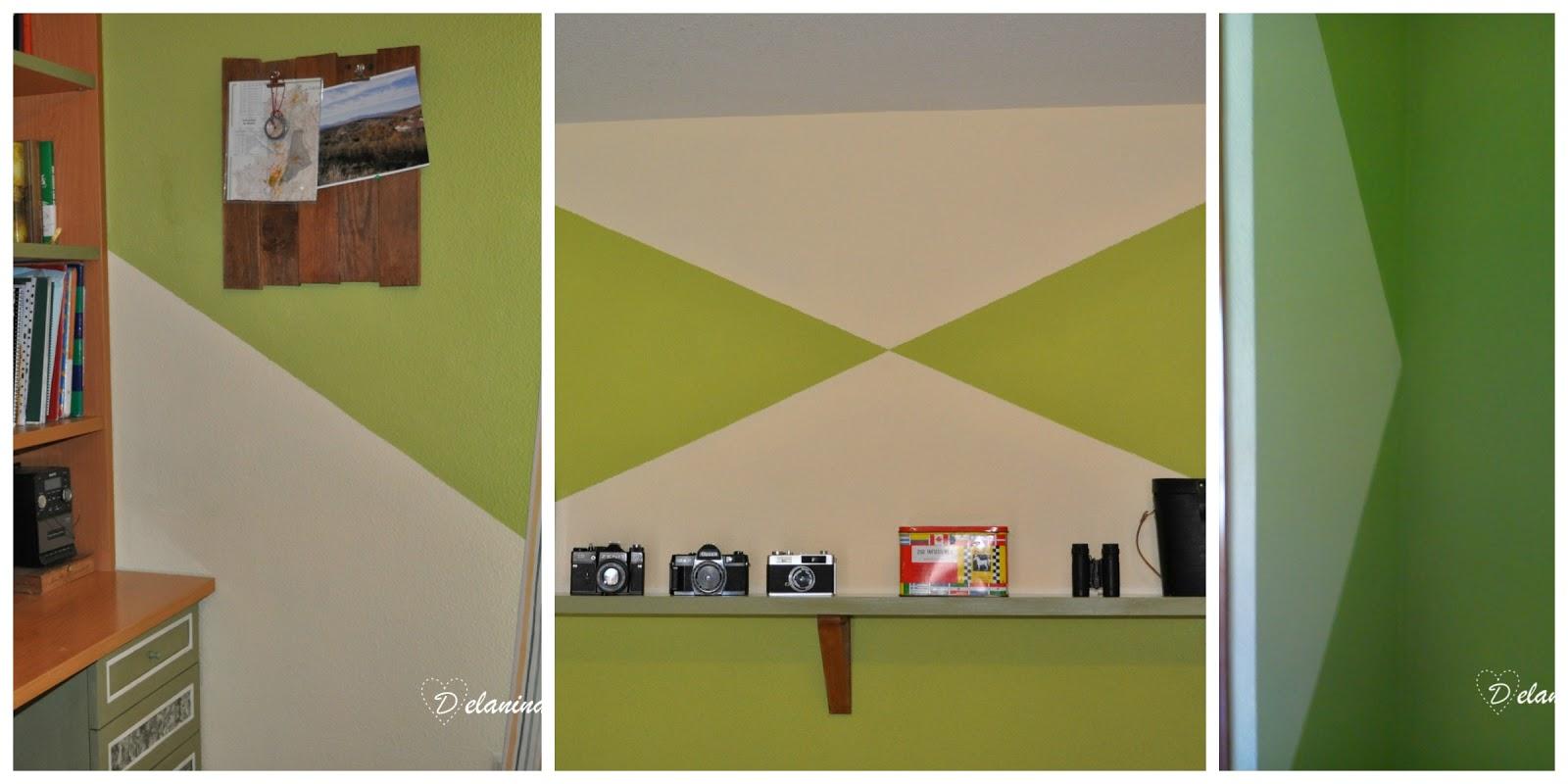 Decoraci n de paredes 7 ideas diy que puedes hacer t - Formas de pintar paredes ...