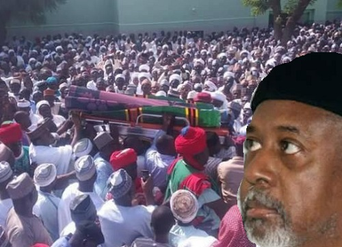 Photos: Dasuki's Father's Burial Rite Earlier Today As He Mourns, Languishes In Kuje prison