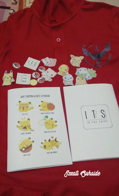 Miliki Koleksi Barangan Pokemon Go dari In The Shirt