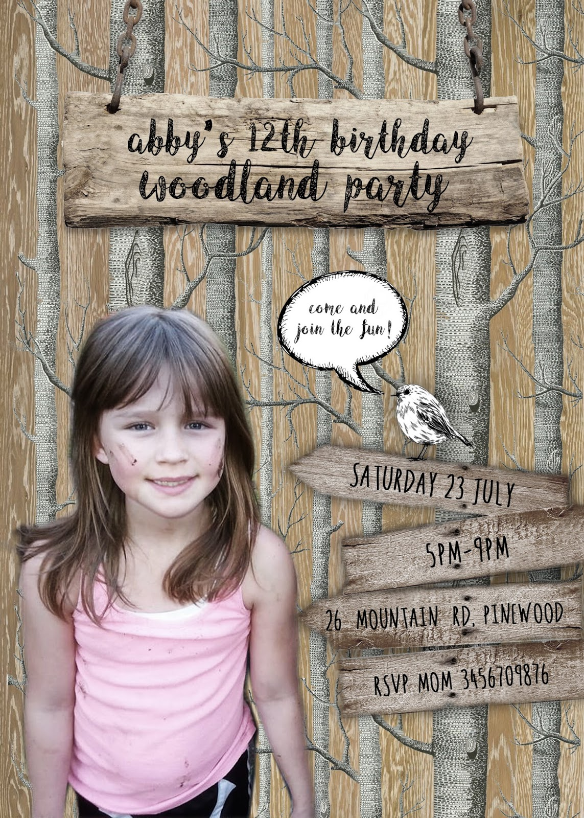 FREE Kids Party Invitations – Free Personalised Birthday Invitations