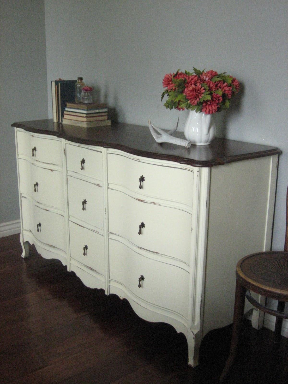 European Paint Finishes: Mellow Yellow Dresser