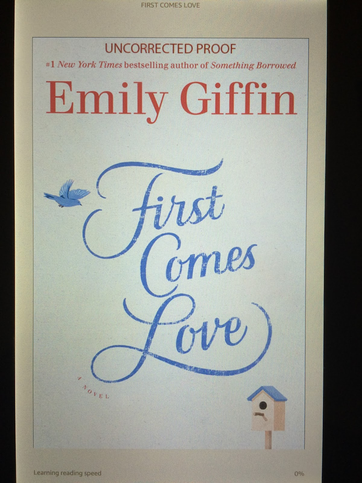 first comes love emily giffin pdf