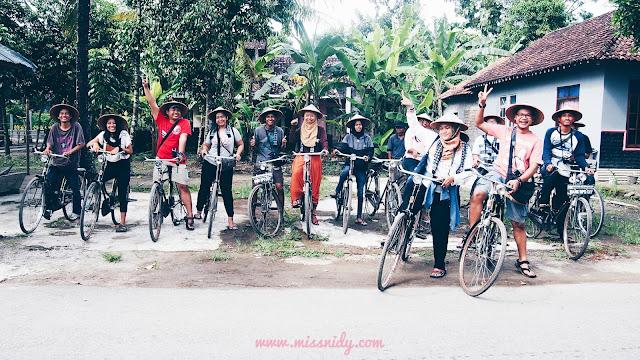 wisata ke desa wisata kebon agung bantul yogyakarta