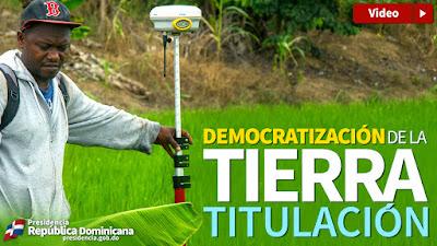 VIDEO: Democratización de la tierra. Titulación