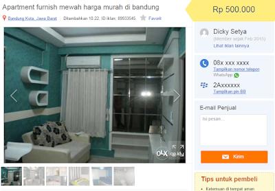 Apartemen Murah di Bandung, Apartment The Suites Metro