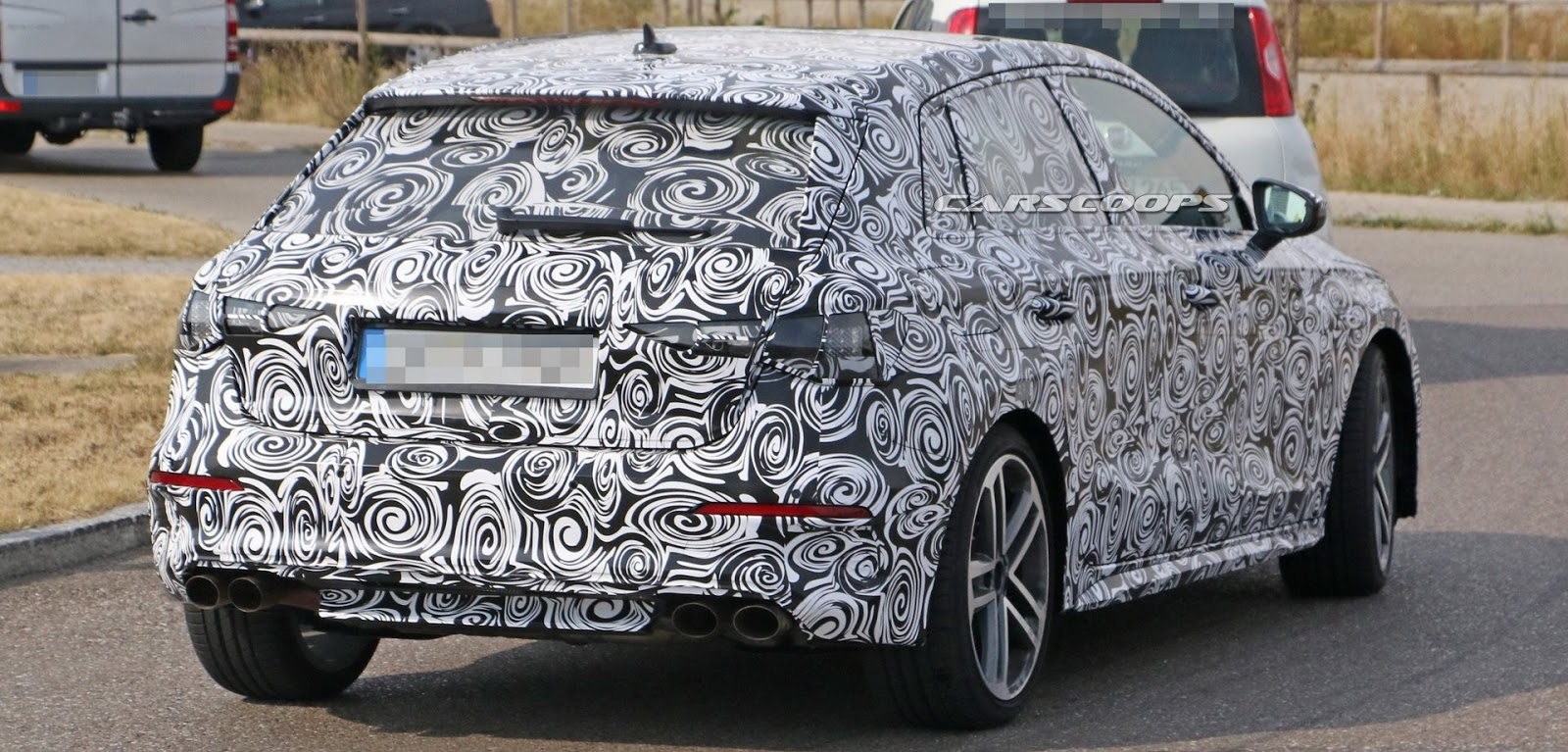 All New Audi A3 Prototype Ms Blog