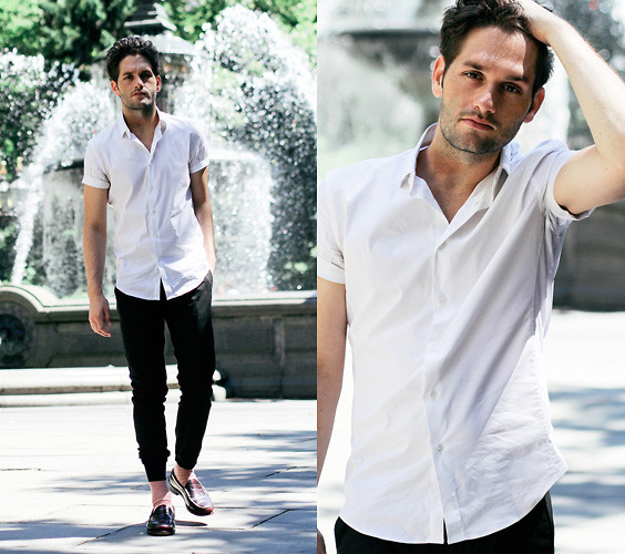 camisa manga curta masculina como usar