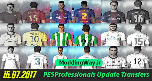 Option File PES Professionals 3.1 PES 2017