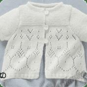 Blusa de bebe a Dos Aguja