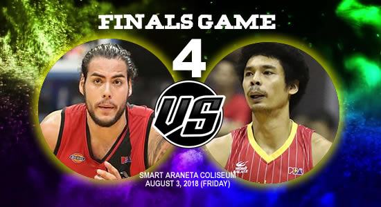List of PBA Game(s): August 3 at Smart Araneta Coliseum 2018 PBA Commissioner's Cup Game 4