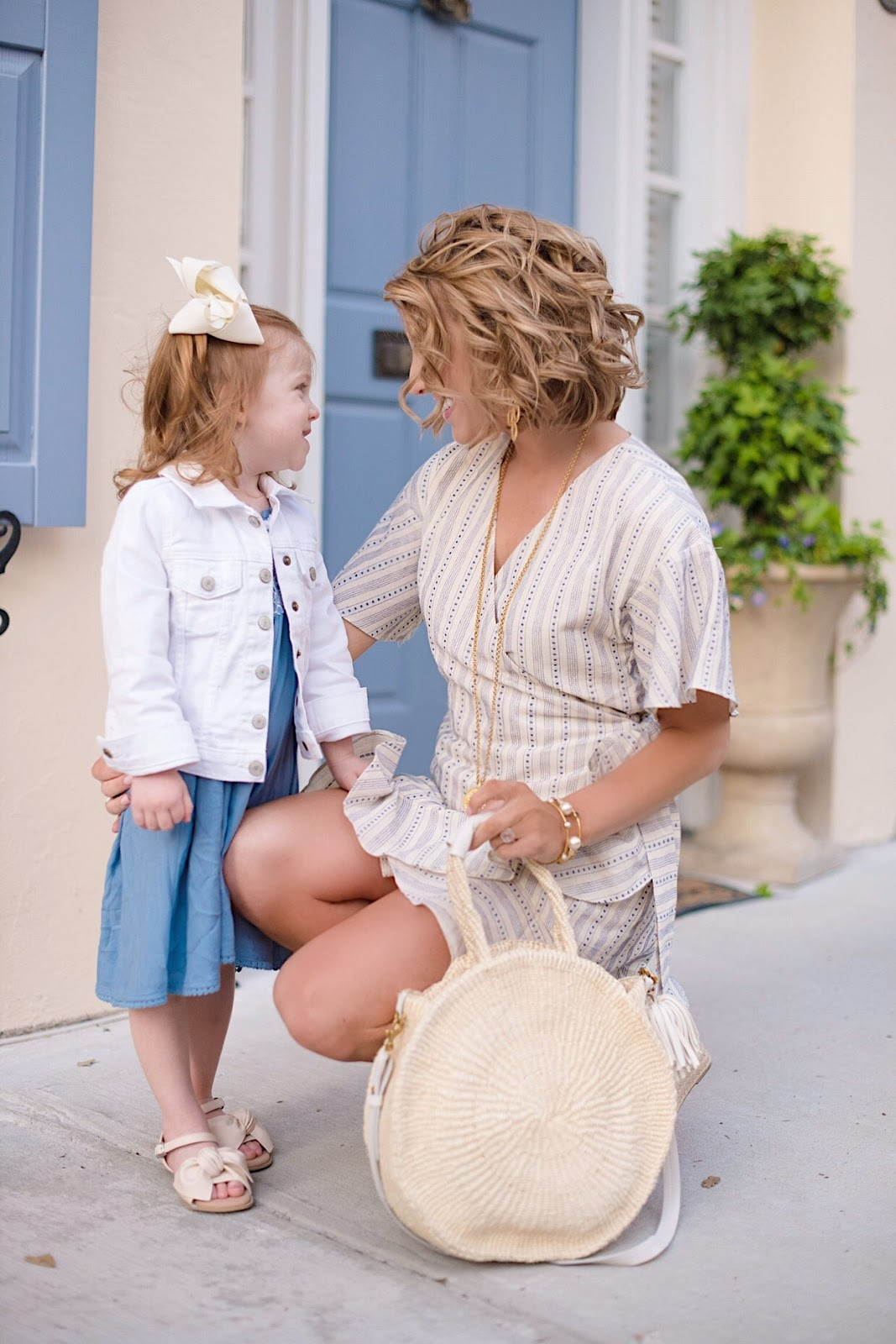 Mommy & Me Style in Charleston, SC. - Something Delightful Blog