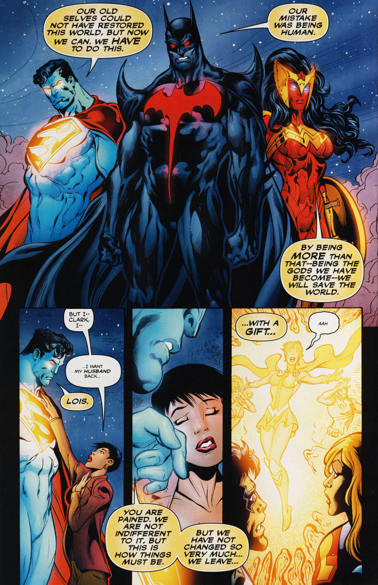 Read online Trinity (2008) comic -  Issue #44 - 22