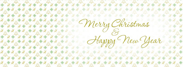 Merry Christmas Happy New Year Fb Cover