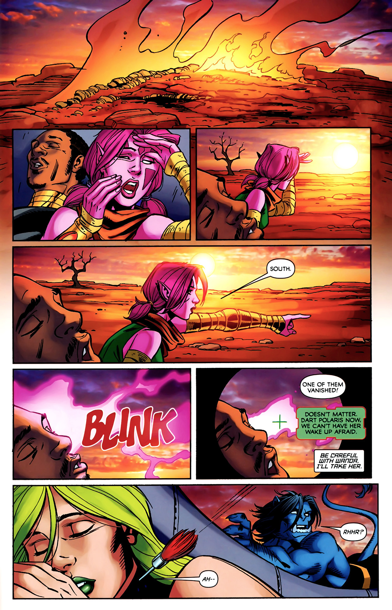 Read online Exiles (2009) comic -  Issue #4 - 15