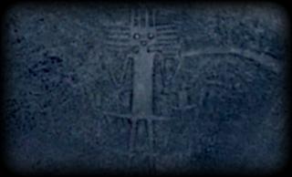 Рисунок в в пустыне Атакама