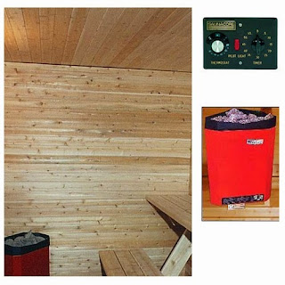 Saunas: Log Home Relaxation At Its Best!