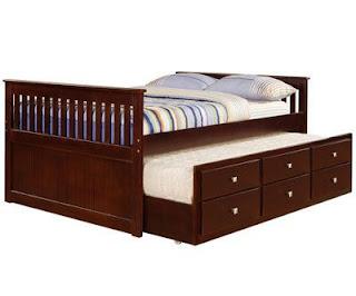 tempat tidur minimalis laci 2 sap