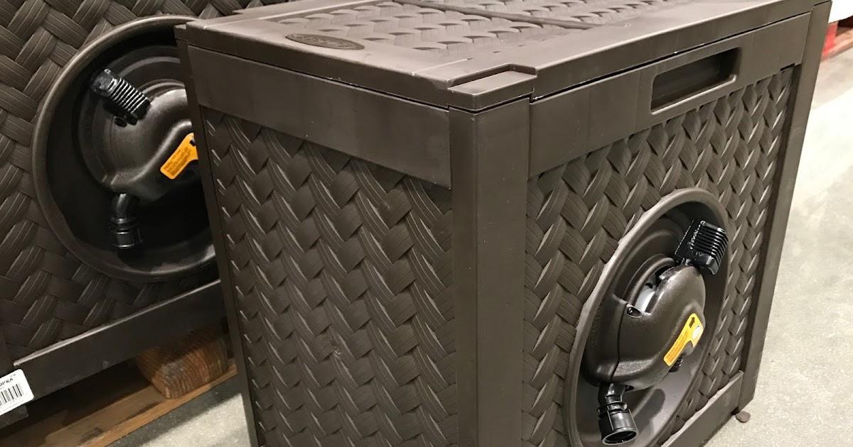 Suncast Aquawinder Auto Rewind Hose Reel Costco Weekender