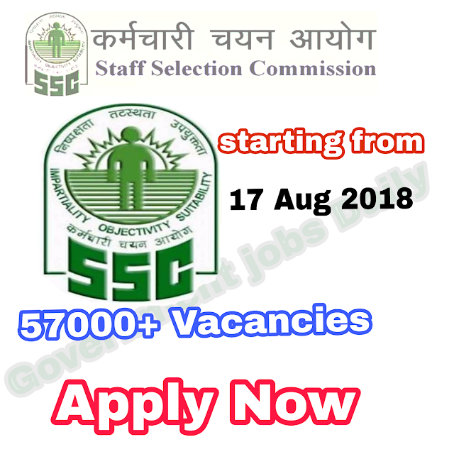 APPLY FOR SSC GD CONSTABLE 2018 54000+ POSTS