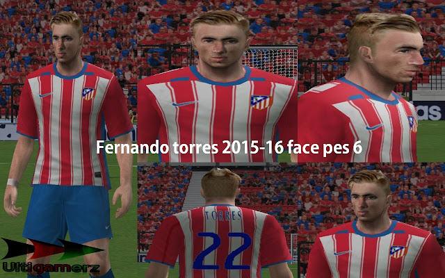fef9e48d05d Fernando Torres   Reus Faces For PES6 - Micano4u