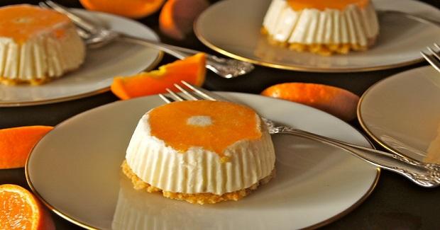 Individual Ojai Pixie Tangerine Cheesecakes Recipe