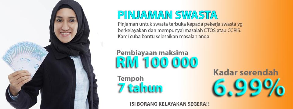 Pinjaman Pekerja Swasta -Pinjaman Peribadi