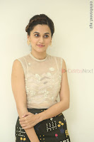 Taapsee Pannu in transparent top at Anando hma theatrical trailer launch ~  Exclusive 084.JPG