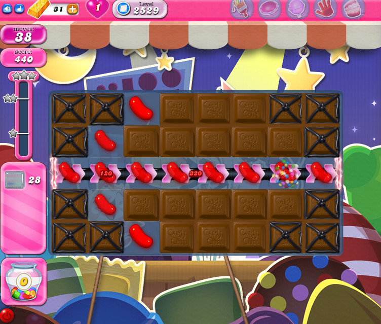 Candy Crush Saga level 2529