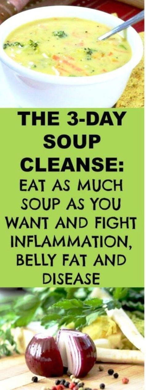 healthy and tasty soup cleanse