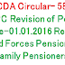 PCDA Circular- 585- 7th CPC Revision of Pension of Pre-01.01.2016 Retired Armed Forces Pensioners/ Family Pensioners