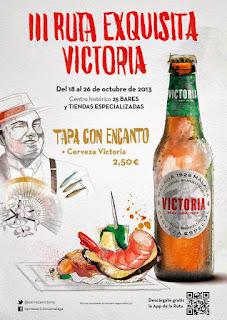 Cerveza Victoria ruta de la tapa