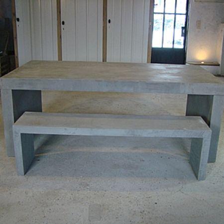 Tavoli Da Esterno In Cemento.Grey Tables I Tavoli Per Esterno In Cemento