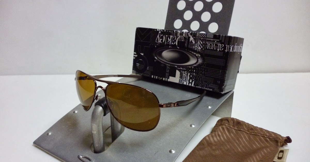 a9c28baafc9 Sam s Oakley Collection from SG Singapore  OAKLEY CROSSHAIR BROWN CHROME  BRONZE OO4060-04 POLARIZED