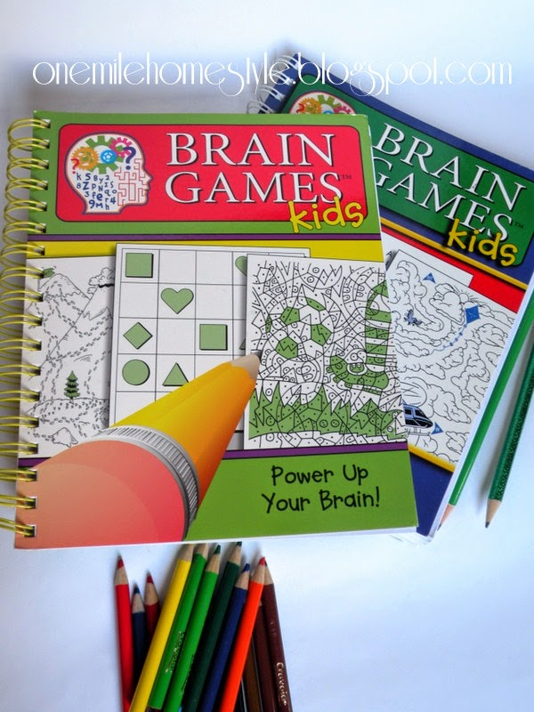 Brain Games Books - Road trip fun with kids