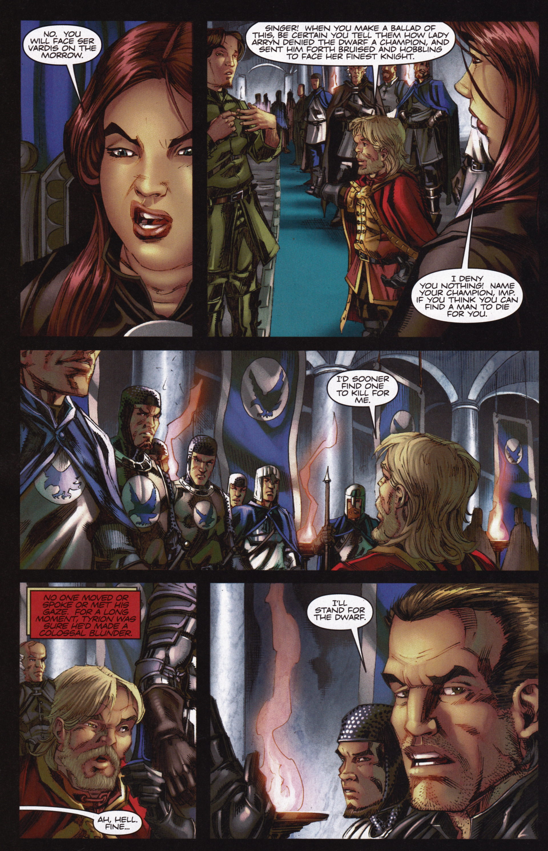 Read online A Game Of Thrones comic -  Issue #12 - 24