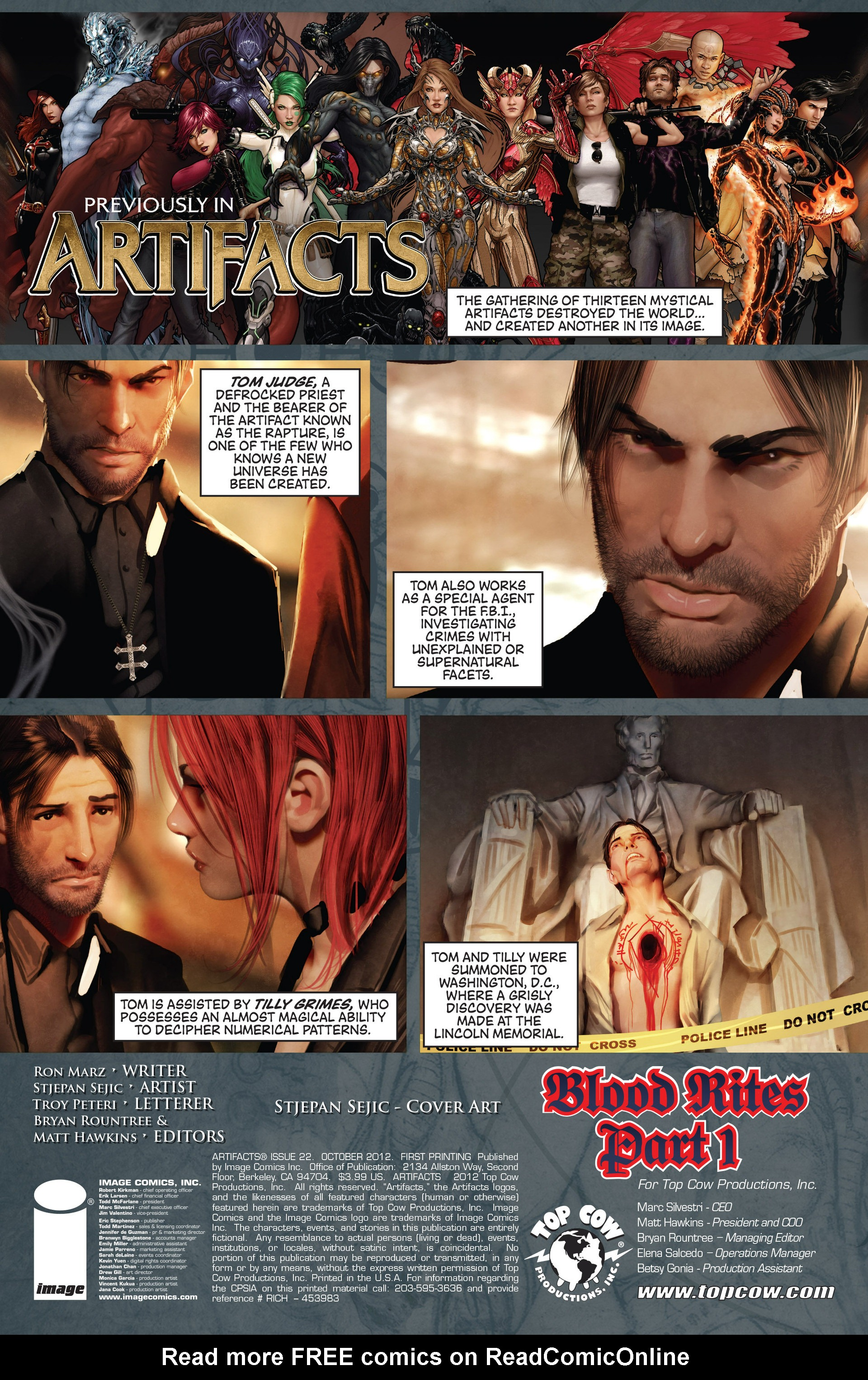 Read online Artifacts comic -  Issue #22 - 3