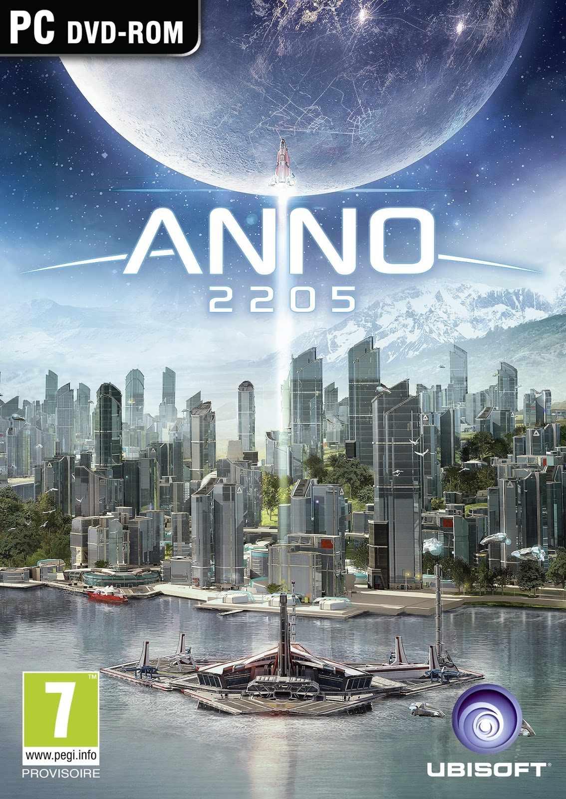 Anno 2205 ESPAÑOL PC Full Cover Caratula