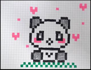 Dessin Pixel Kawaii