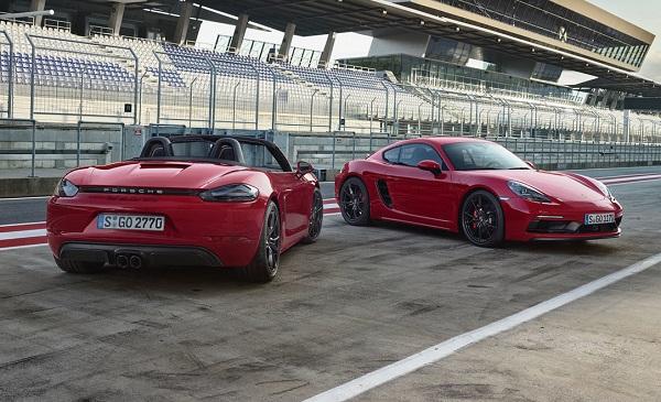 Porsche 718 Cayman GTS y Porsche 718 Boxster GTS