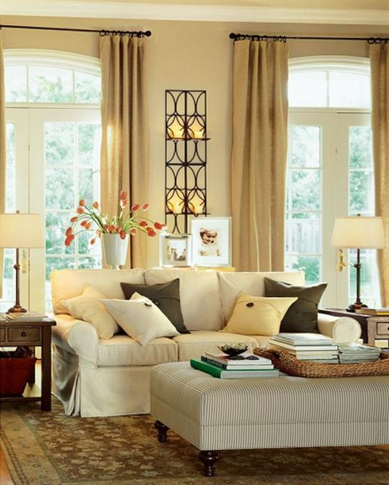 Sweet Home Contemporary Warm And Cozy Living Room Interior Decorating Ideas