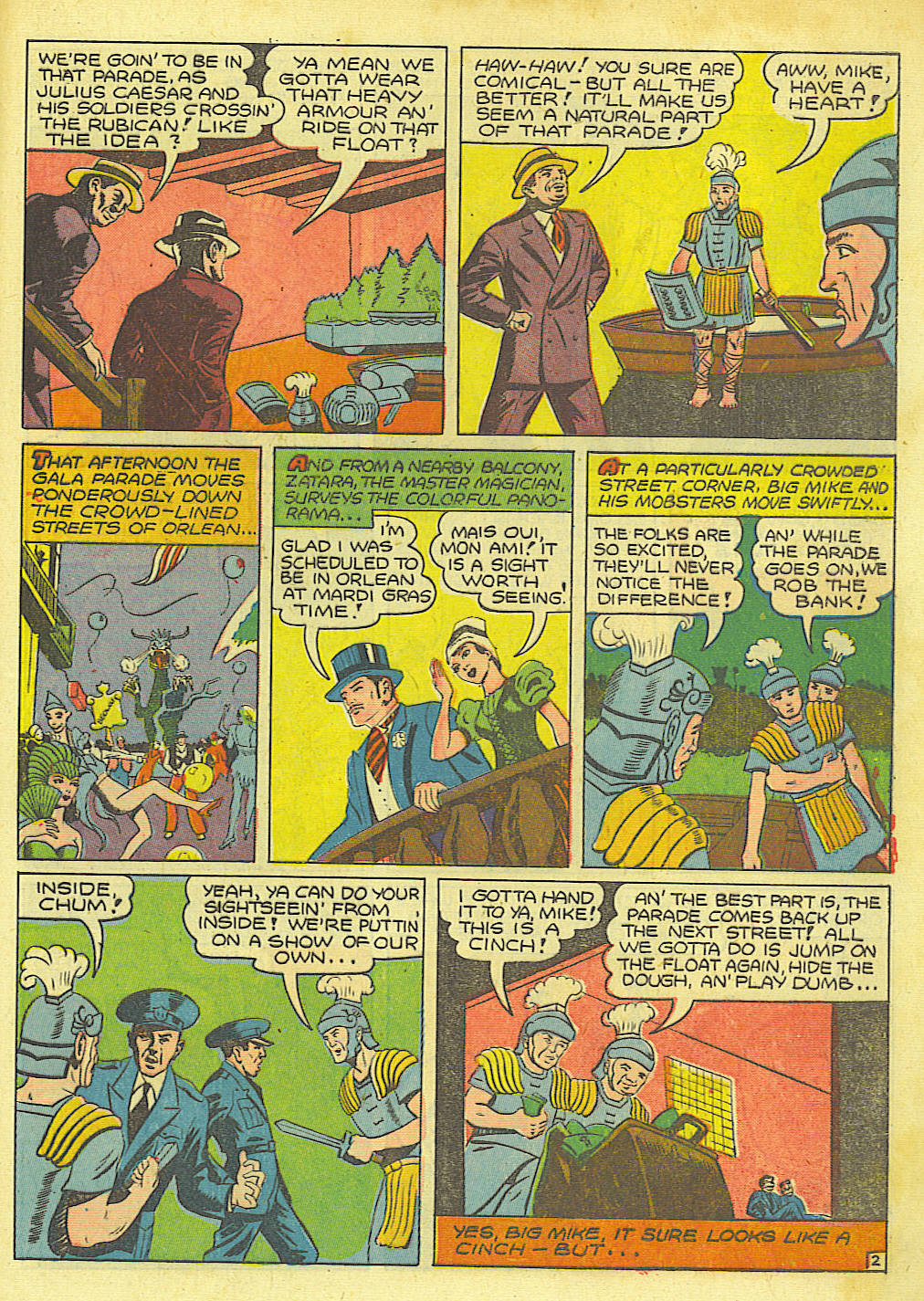 Read online Action Comics (1938) comic -  Issue #67 - 51
