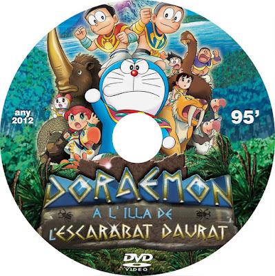 Doremon a l'illa de l'escarabat daurat - [2012]