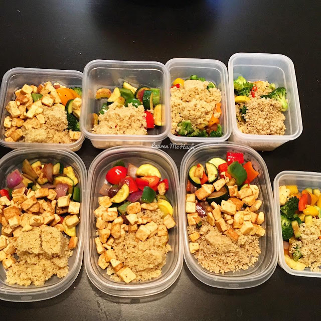 21 day fix vegan meal prep