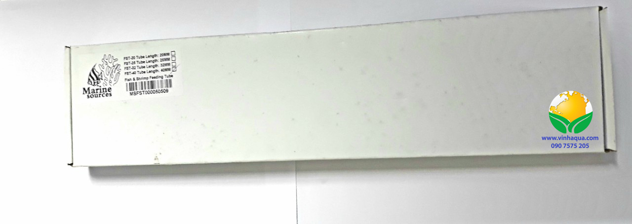 Ống mica cho tép ăn dài 32cm