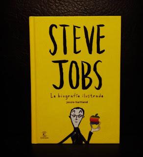 Steve Jobs, la biografía ilustrada de Jessie Hartland comic tecnología