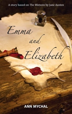 Book cover - Emma and Elizabeth by Ann Mychal