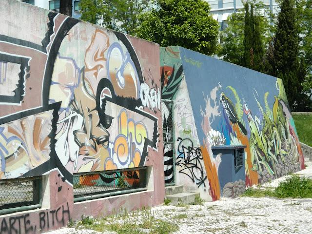 Graffiti Art Almada Lisbon Portugal