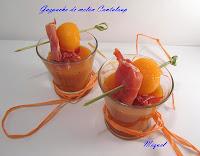 Gazpacho de melón cantaloup