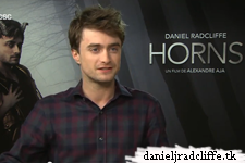 Horns press junket interviews (FR)