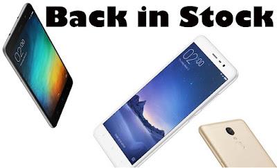 Xiaomi Redmi Note 3 32GB Back in Stock on Amazon India